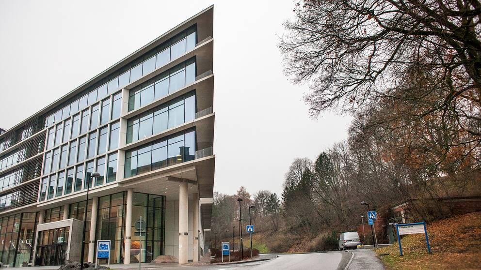 Psykiatrins hus i Uppsala, Akademiska Sjukhuset, vintern 2016