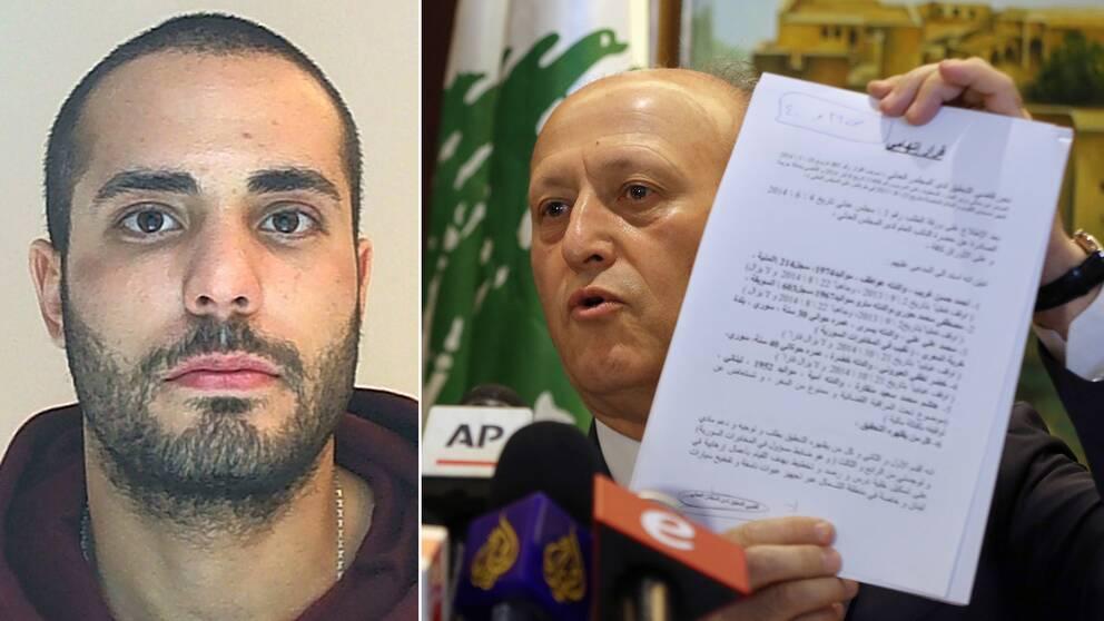Saliba och Libanons justitieminister