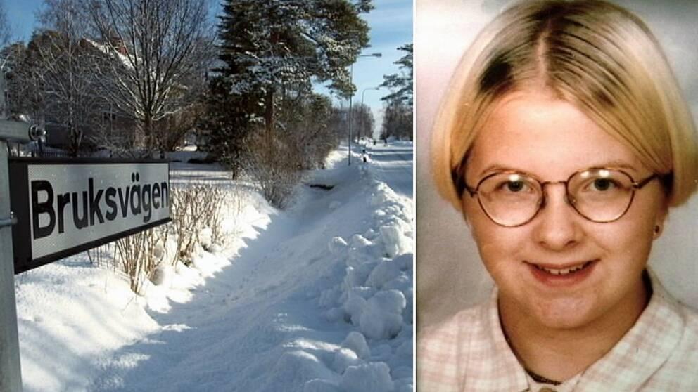 16-åriga Malin Lindström klev av bussen hemma i Husum – och försvann spårlöst.