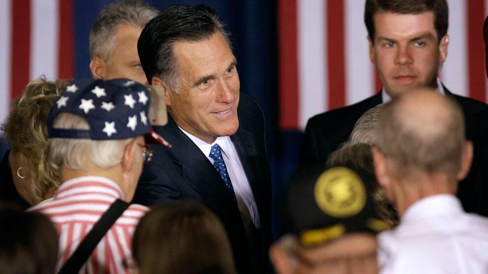 Mitt Romney, som sannolikt väljs till republikanernas presidentkandidat. Foto: Scanpix