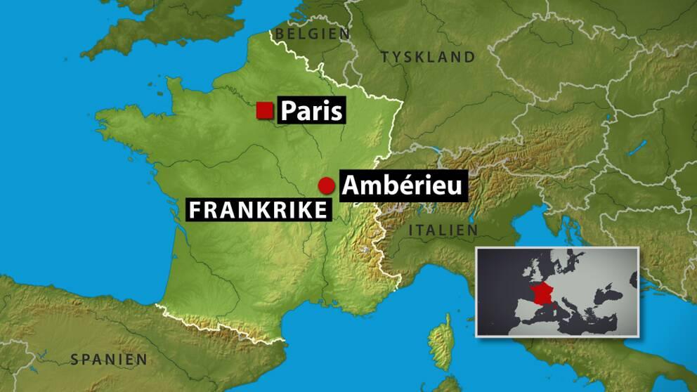 Kvinna och tva barn mordade i frankrike