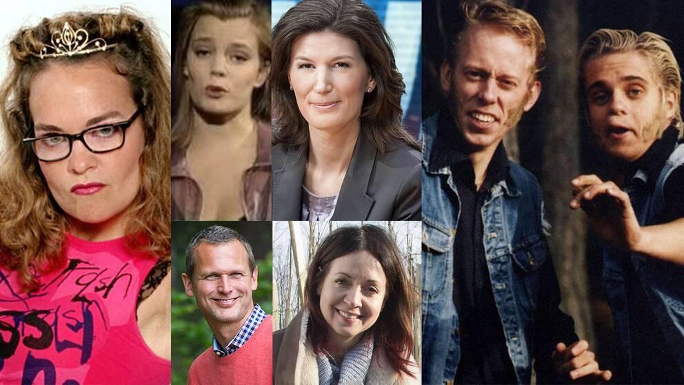 TV profiler som startat i Småland kollage