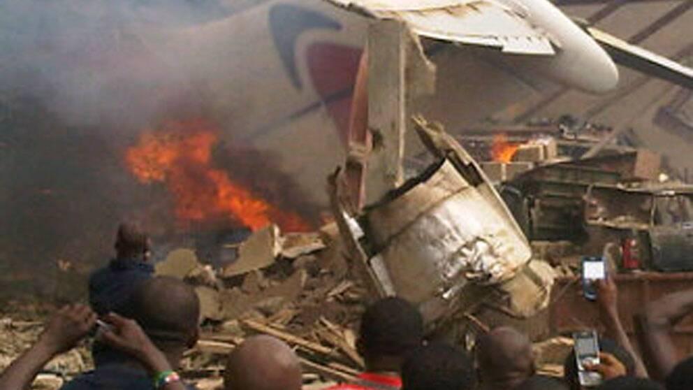 Flera explosioner i nigeriansk stad