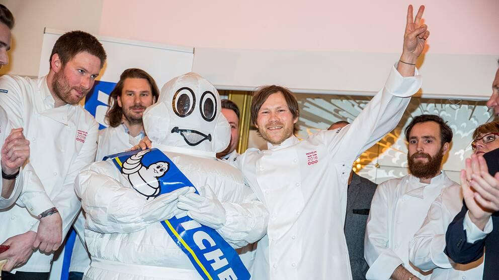 Rasmus Kofoed firade i februari att Geranium blev första danska restaurang att få tre stjärnor i Michelin-guiden.