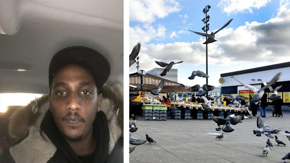 Enligt Samuel Berhane som jobbar på Tensta konsthall har ljudet hörts i flera dagar.