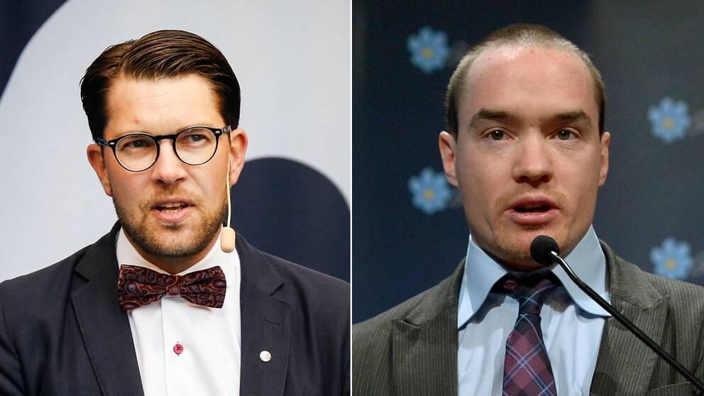 Jimmie Åkesson och Kent Ekeroth
