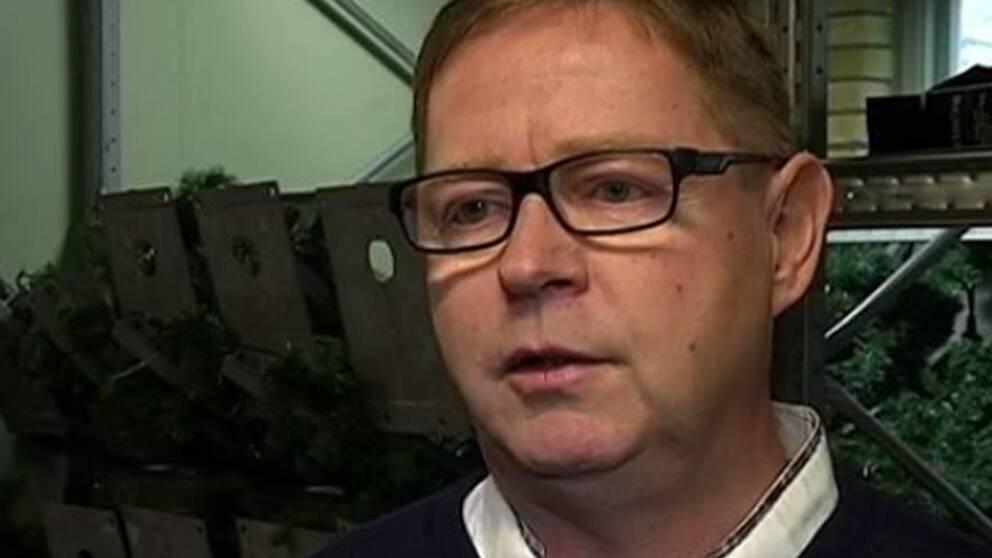 Bengt Palmqvist, ordförande i Hestra samhällsförening.