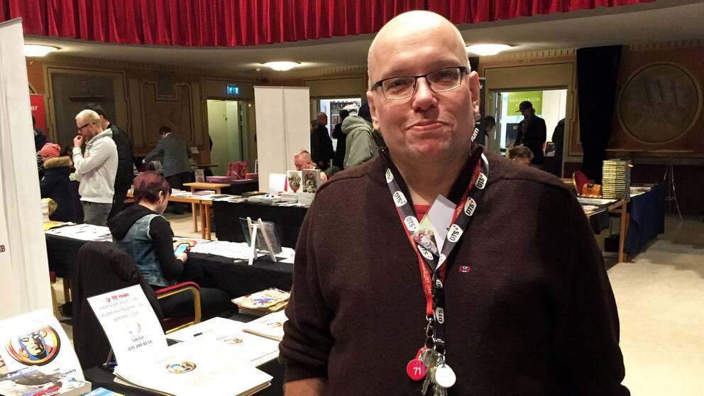 thomas Karlsson är projektledare för Örebro Seriefestival.