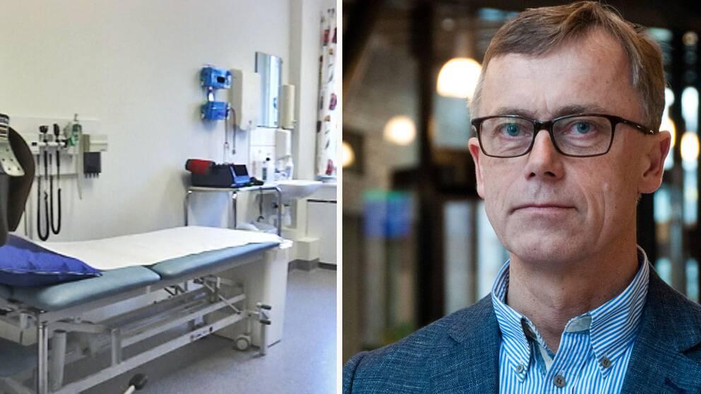 Sven Oredsson, specialist i kirurgi. och medicinsk rådgivare i region Skåne