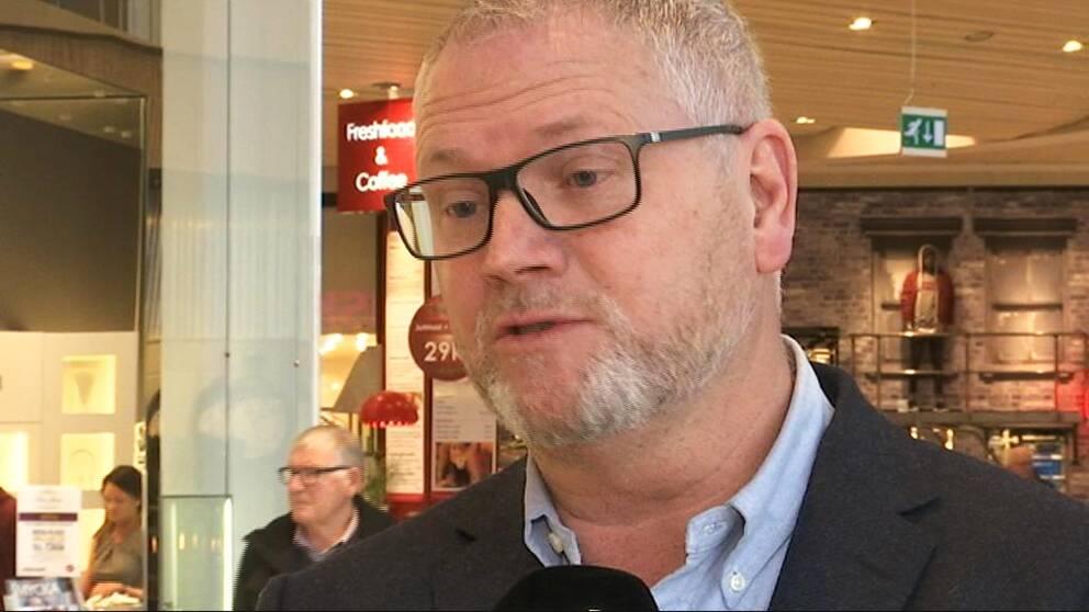 Mats Jäderberg, centrumchef för köpcentret Grand Samarkand i Växjö.