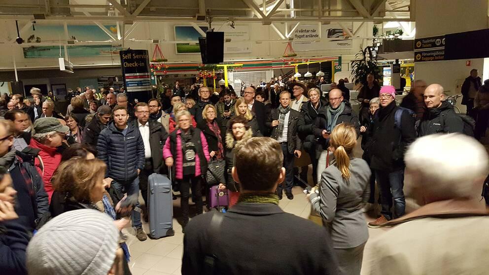Malmö Airport öppen Igen För Flygtrafik Svt Nyheter