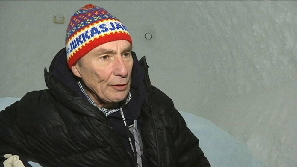 Icehotels vd Yngve Bergqvist