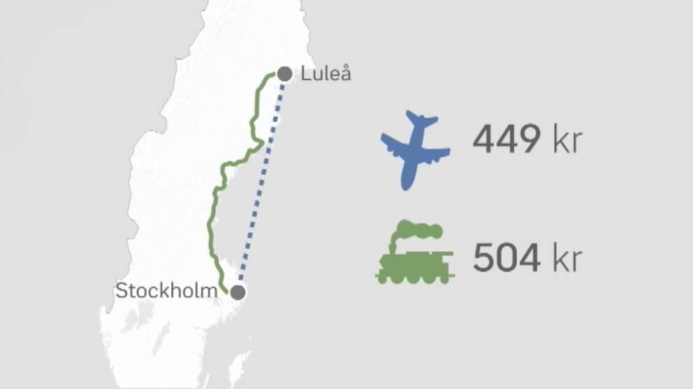Grafik med karta över Sverige.
