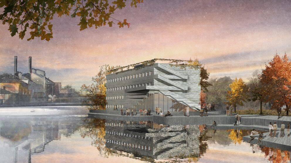 Så här kan Strömsholmen se ut 2019. Arkitekt: Codesign.
