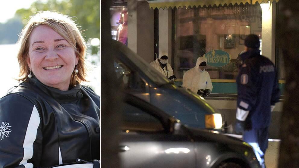 Finlandsk polis forhor svenskar