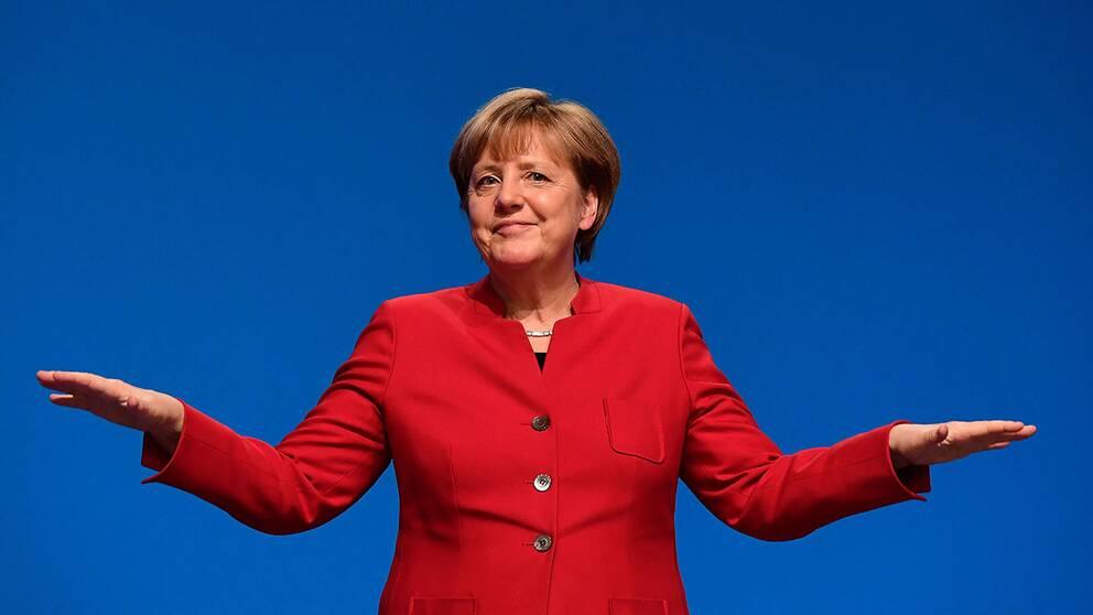 Merkel otroligt ar