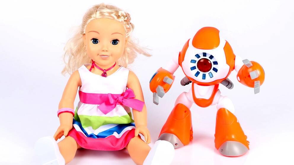 Sveriges Konsumenter anmäler dockan My Friend Cayla och roboten i-Que till Konsumentverket och Datainspektionen.