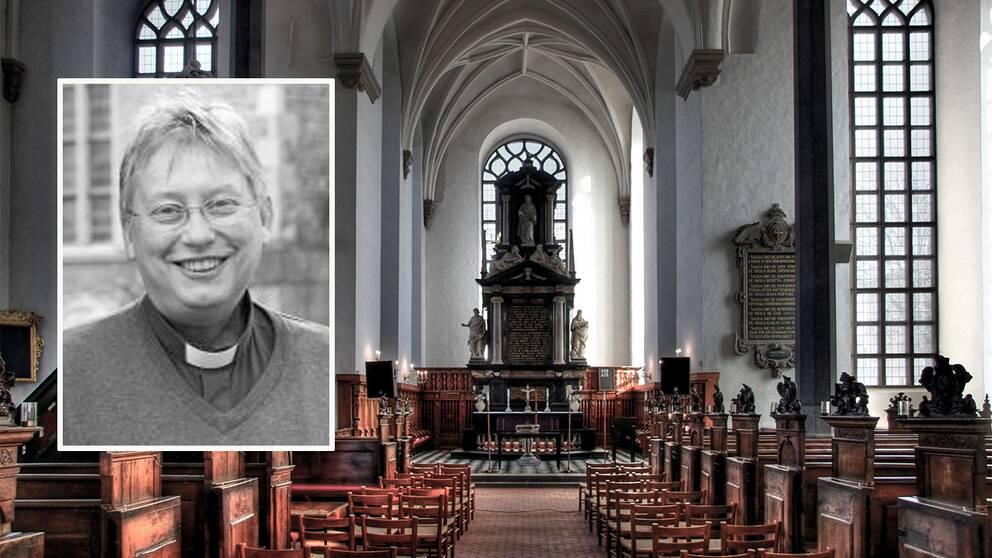 Lena Bruces, präst i Heliga Trefalighetskyrkan