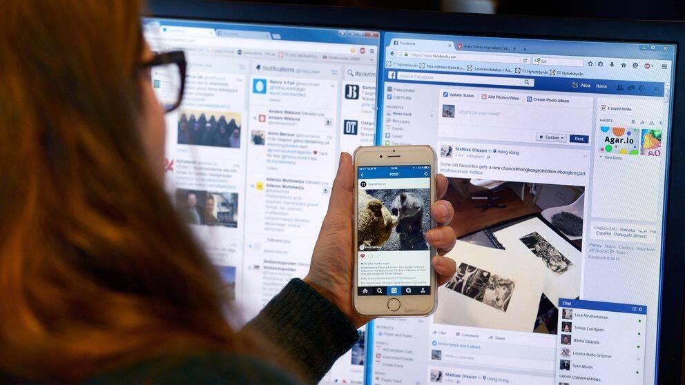 Sociala medier, Facebook, Twitter, Instagram