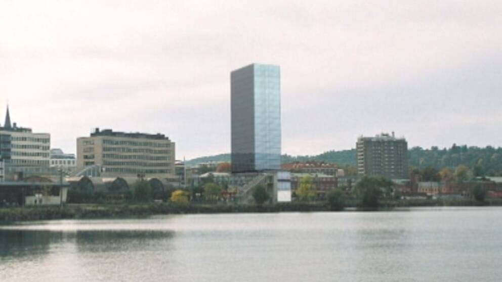 Planerat höghushotell i Jönköping