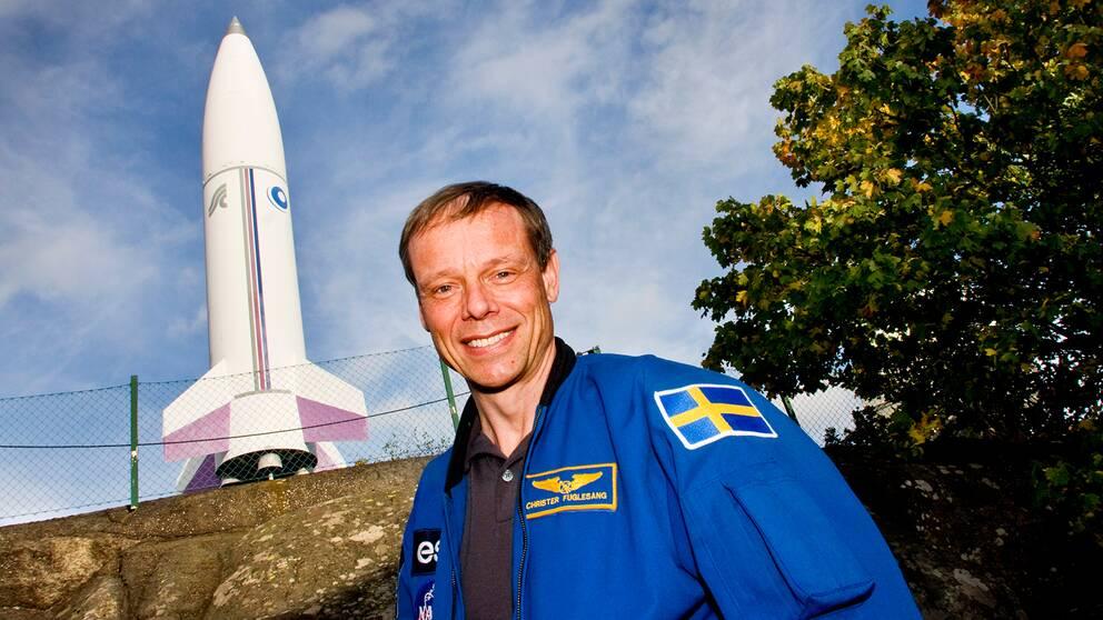 Astronauten Christer Fuglesang.