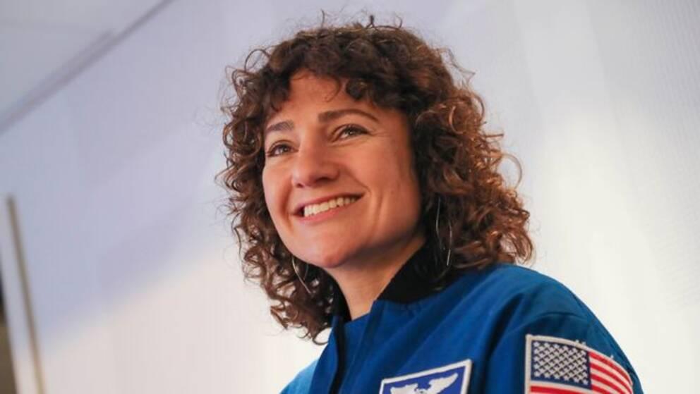 Astronauten Jessica Meir.