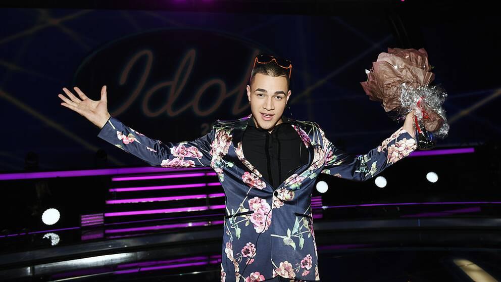 Liam Cacatian Thomassen, vinnaren av Idol 2016.