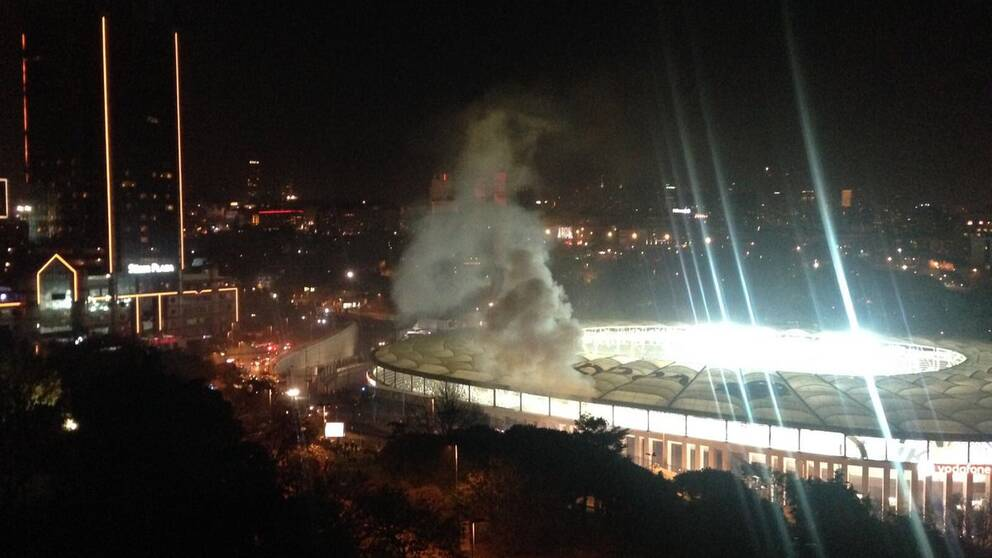 Bild på explosionen.