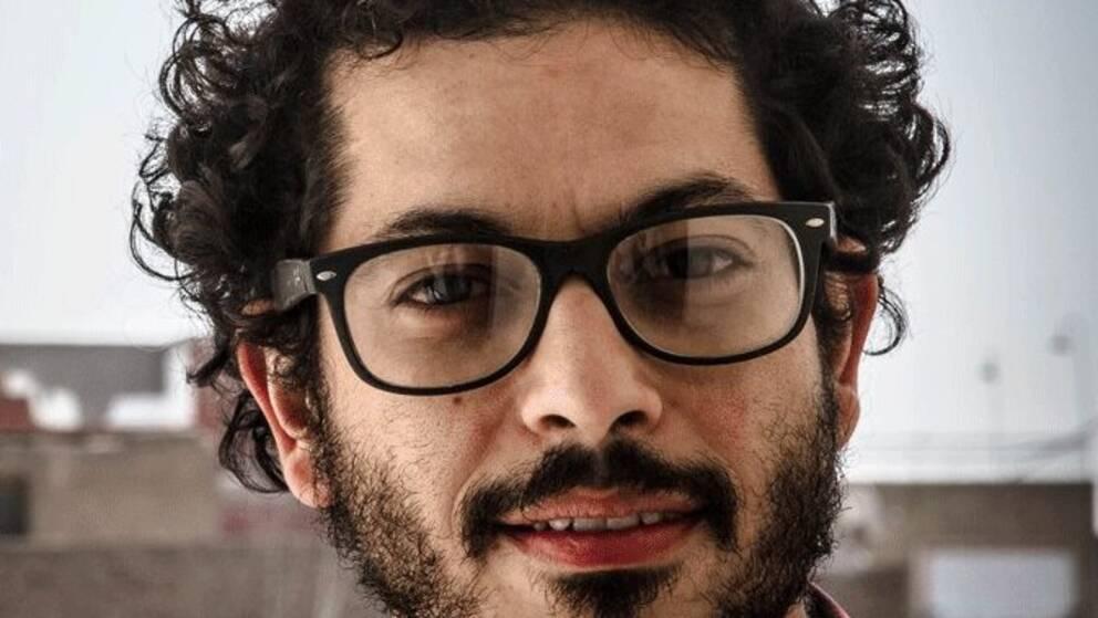 Journalisten och aktivisten Wael Eskandar.