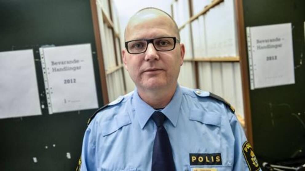 Thomas Agnevik, presstalesperson hos polisregion Öst.
