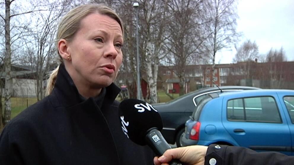 Sara Rudolfsson (S), kommunalråd i Olofström.