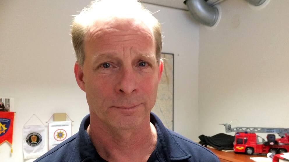 Räddningschef Pär Maltesson