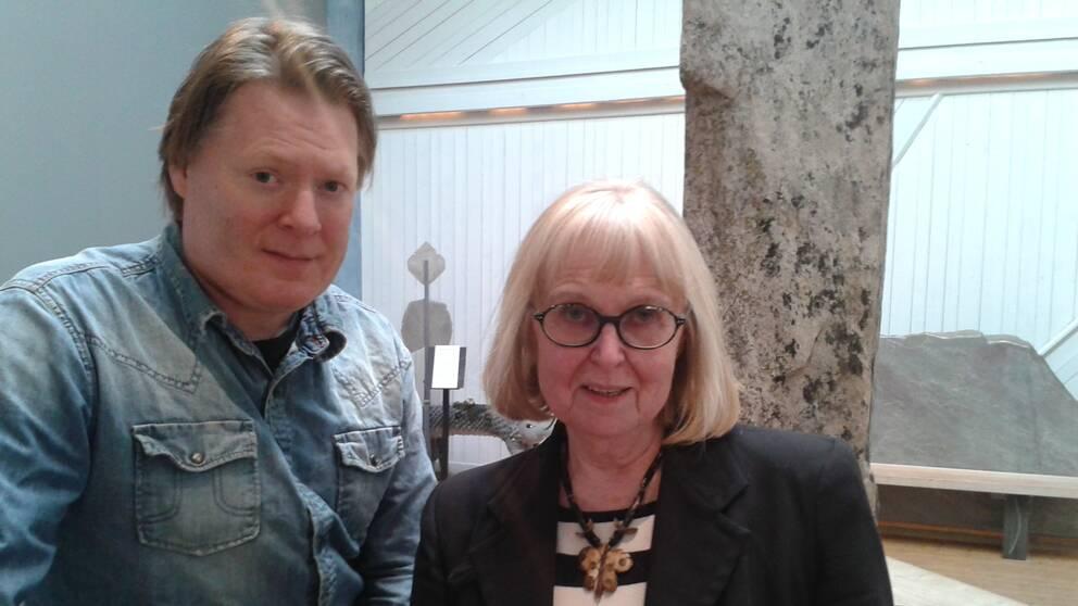 Joakim Johansson och Margita Dahlström