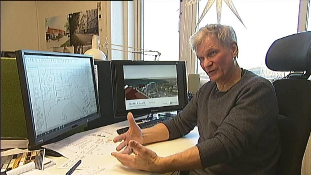 Arkitekten Per Nilsson.