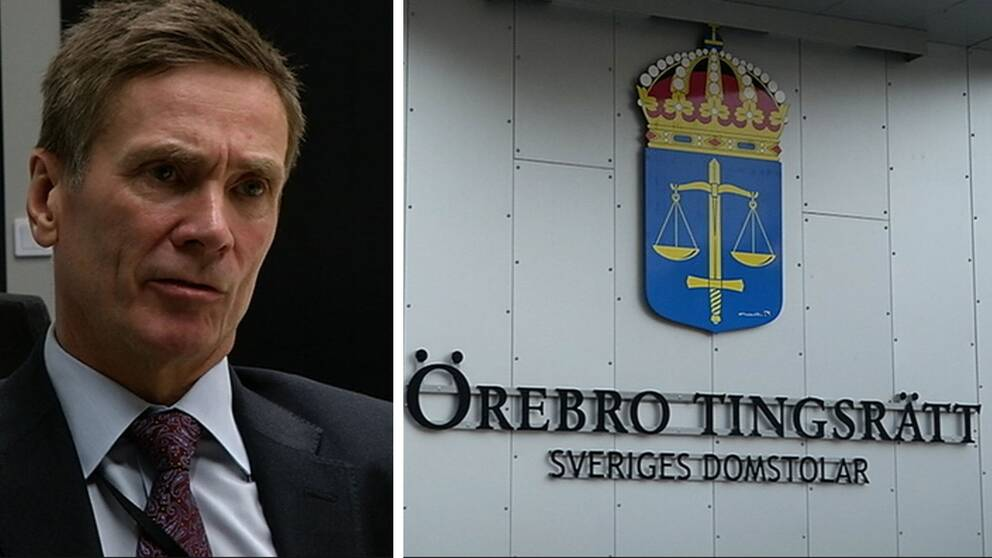 Björn Lindén, agman vid Örebro tingsrätt.