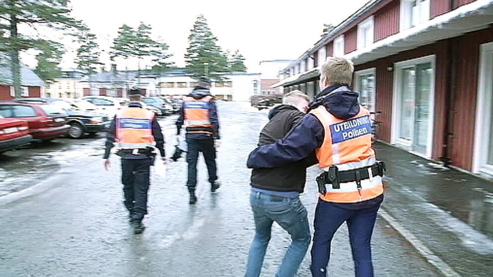 polisutbildning aspiranter i Umeå