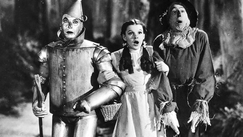 """""""Trollkarlen från Oz"""" gav Judy Garland sitt genombrott 1939. Filmmusiken skrevs av EY Harburg och Harold Arlen."""