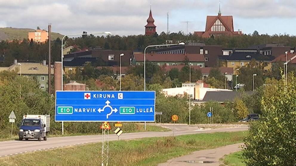 Väg E10 Kiruna