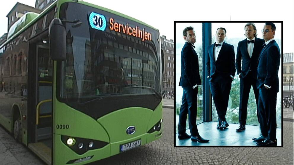 Kent, musik, bussar, Eskilstuna