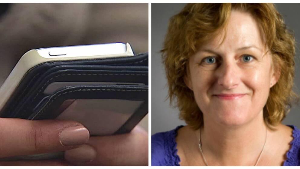Mobiltelefon/ Linda Bradley, Chalmers