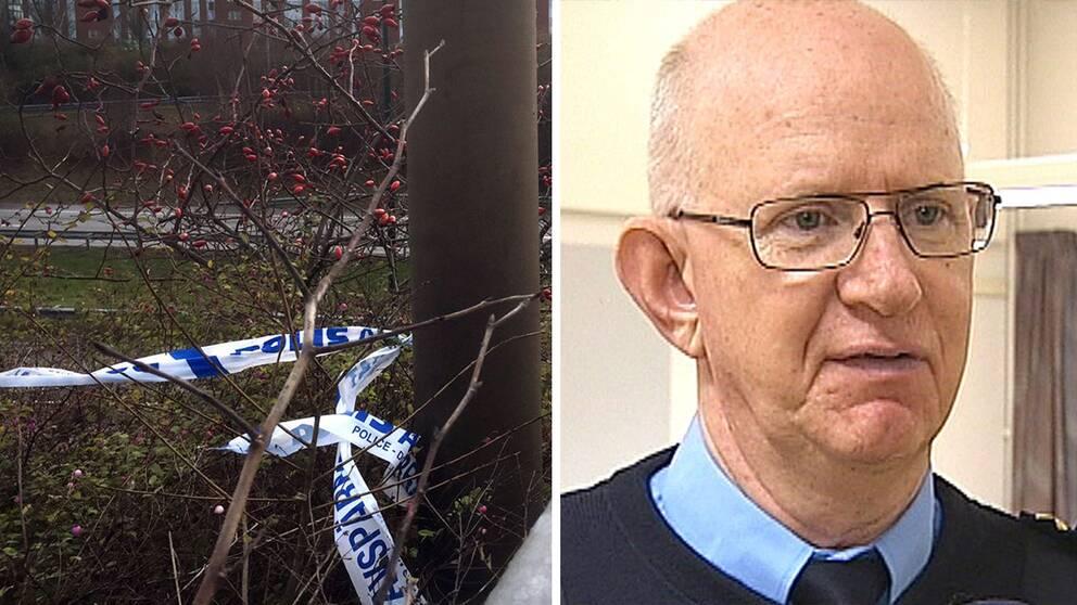 Börje Sjöholm är en av flera som kallas in för att stötta upp mordutredarna i Malmö.