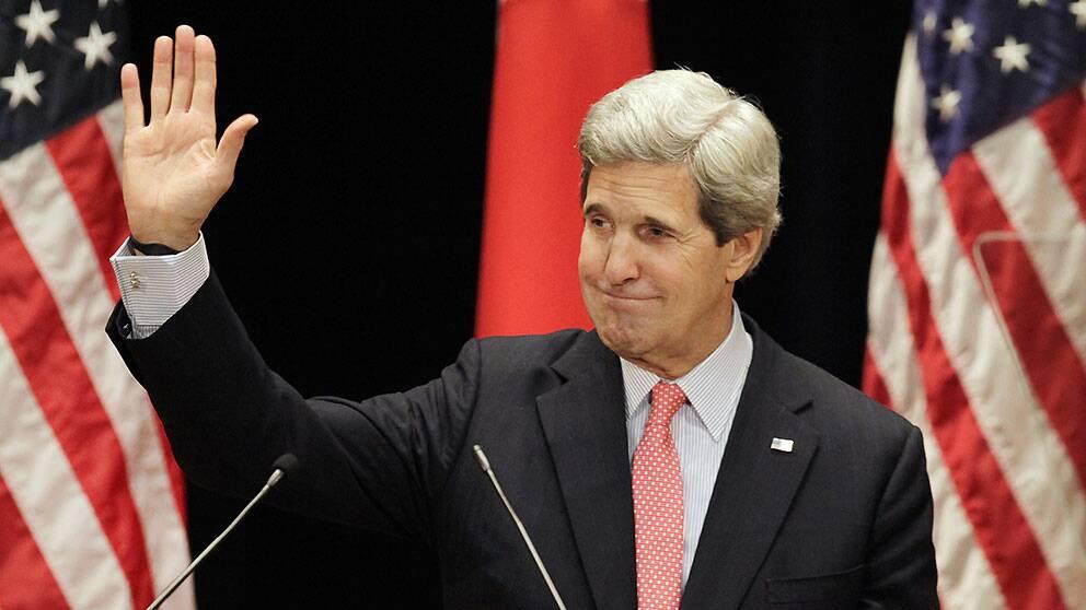 John Kerry, USA:s utrikesminister