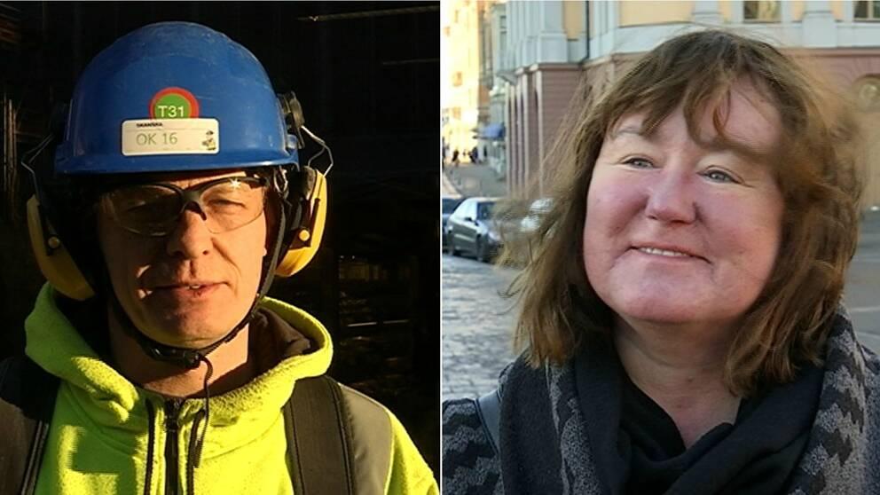 – Det känns som att det är män som ska jobba inom sånt, säger Eva Magnusson.
