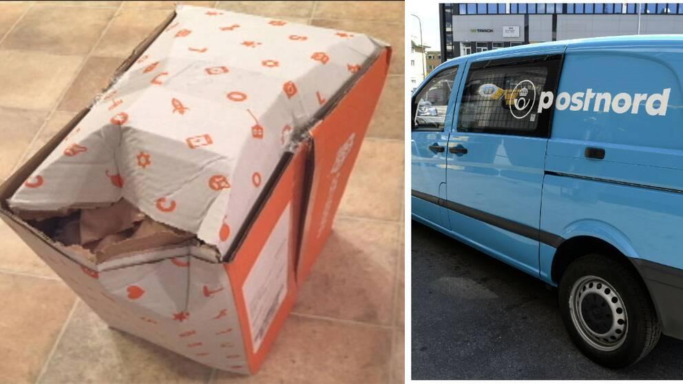 Bara sju procent av de krossade paket som Postnord levererar reklameras.