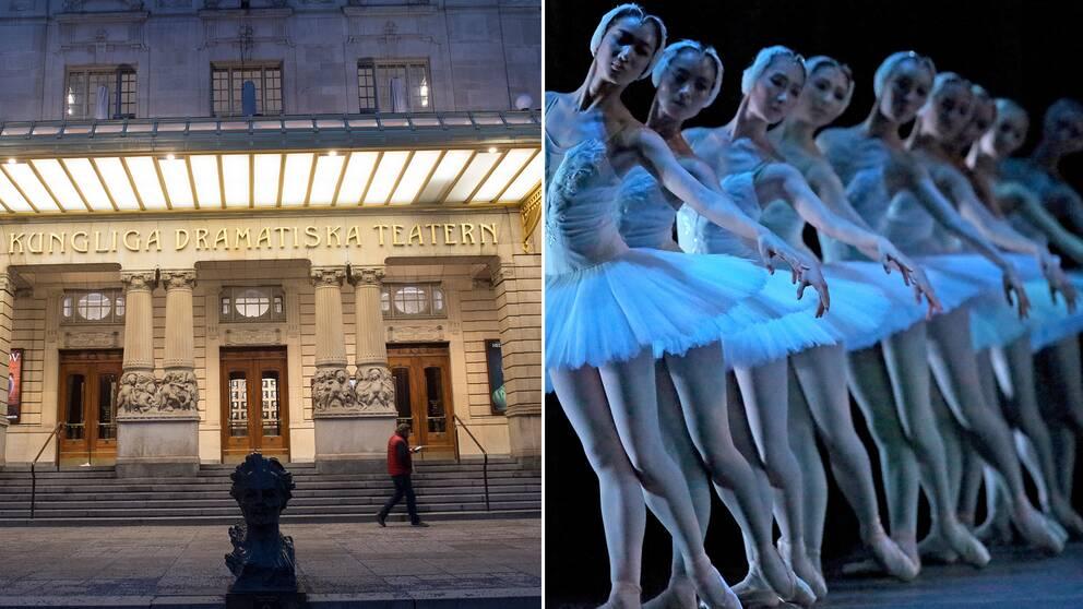 Skådespelare och dansare är två konstnärliga yrkesgrupper som ingår i Konstnärsnämndens nya granskning.