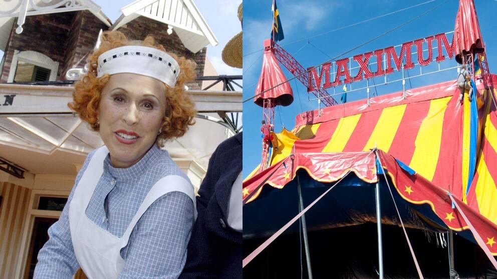 Eva Rydberg och cirkus Maximum