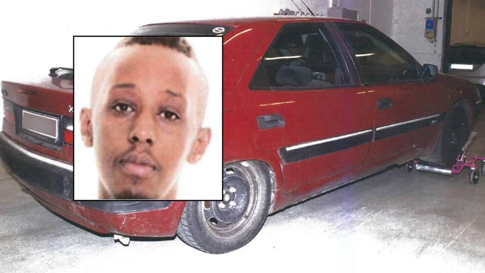Ahmed Warsame var bland annat med och köpte den flyktbil som användes i samband med skjutningen.