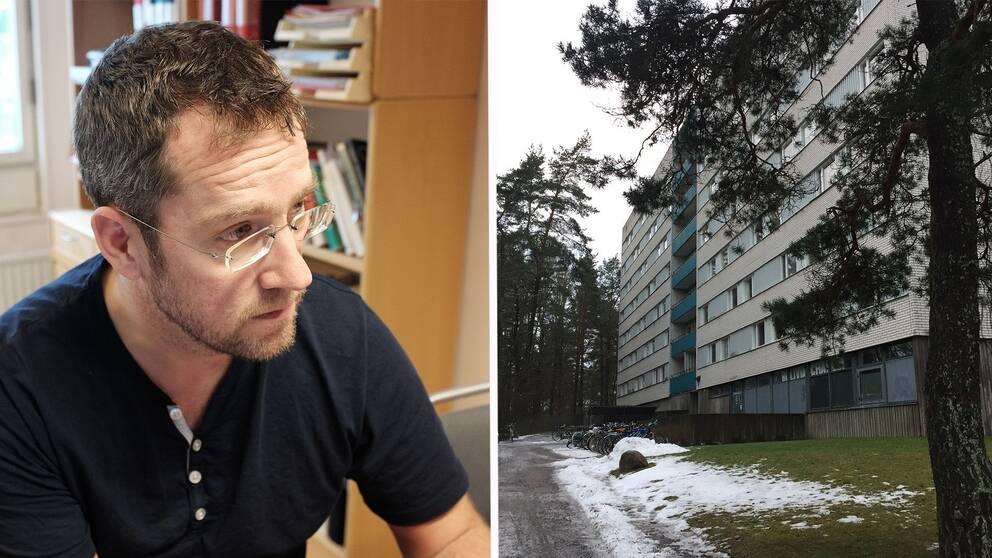Johan Pelling, Hyresgästföreningen