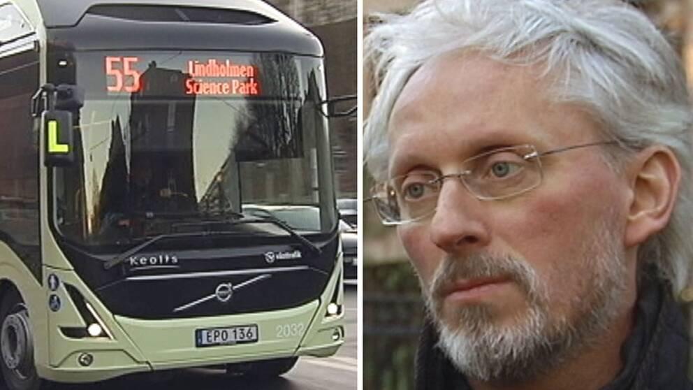 Elbuss och trafikdirektör Stefan Eglinger