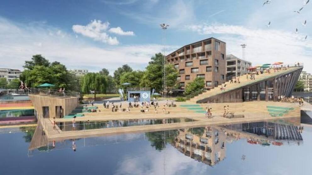 Inre Hamnen, arkitektförslag